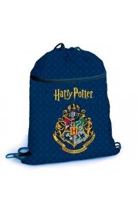 Мешок для сменной обуви Hatber 37х47 см с карманом на молнии 1 отделение -Гарри Поттер-