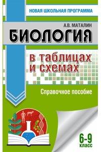 Биология в таблицах и схемах. Справочное пособие. 6-9 кл
