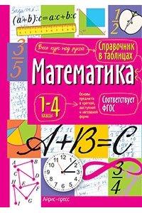 Справочник в таблицах. Математика. 1-4 классы