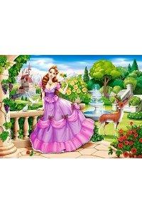 Пазлы B9-111091 Принцесса в саду , 100 деталей, Castor Land