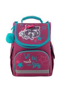 Рюкзак школьный каркасный Kite Education 501-3 Fluffy racoon