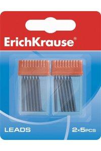 Набор грифелей для циркулей ErichKrauseR (в блистере 2 контейнера по 5 шт.)