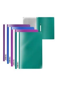 Папка-скоросшиватель пластиковая ErichKrauseR Fizzy Vivid, A4, ассорти (в пакете по 20 шт.)