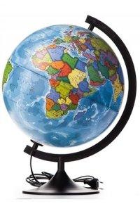 Глобус Земли политический 320мм с подсветкой
