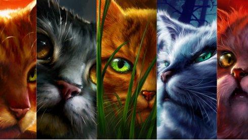 Коты-воители – легендарная сага для детей и подростков